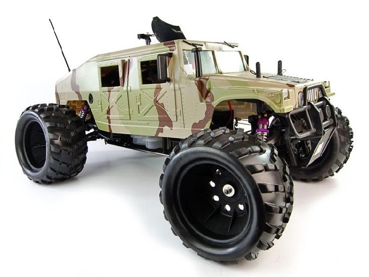 HUMMER 26CC 1/5TH GASOLONE RC MONSTER TRUCK – 2
