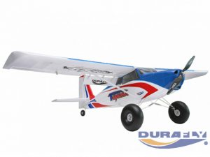 """DURAFLY TUNDRA V2 (PNF) - RED/BLUE - 1300MM (51"""") SPORTS MODEL W/FLAPS"""