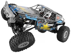 1/10 SCALE 2.4GHZ RC CRAWLER TRUCK, 4WD ELECTRIC CLIMBER 104310 RTR